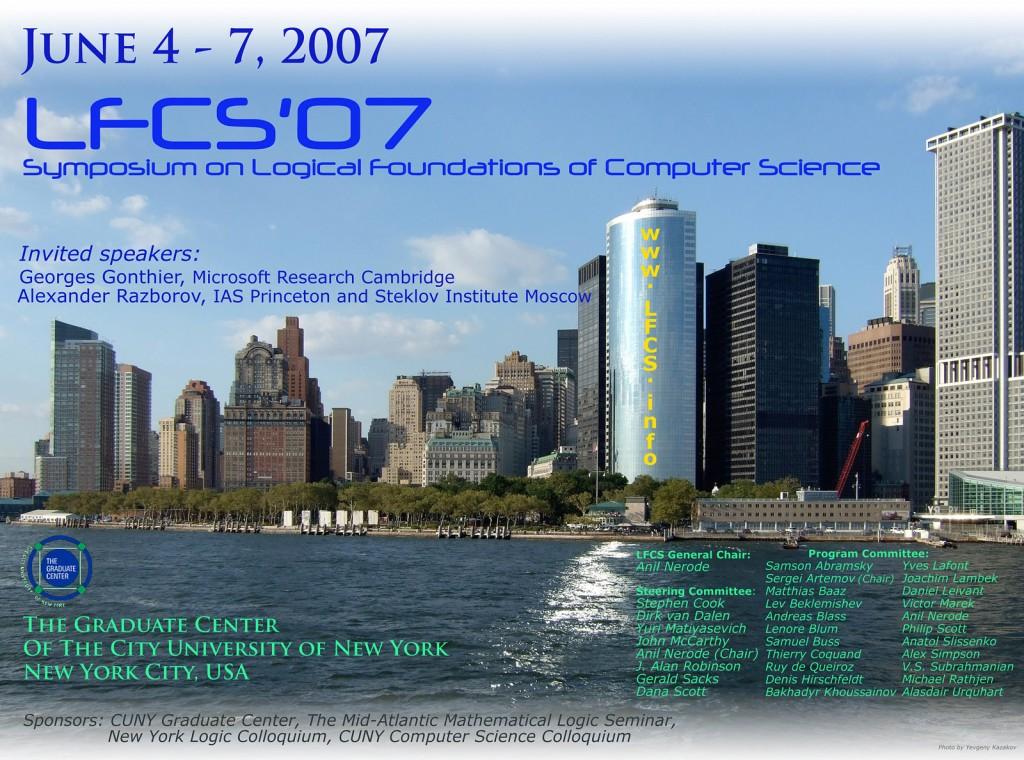 LFCS 2007 Poster